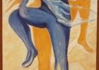 Diptique danseuse gauche