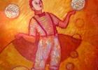 Jongleur orange